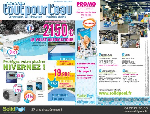 hivernage d couvrez toutes les promotions piscine du 01 10 2014 au 29 11 2014. Black Bedroom Furniture Sets. Home Design Ideas